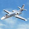 Dynam Cessna 550 Turbo Jet V2 1180MM W/O Tx/Rx/Batt