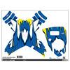Upgrade Dji Phantom 1 & 2 Skins Blue/Yellow