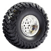 Fastrax 1:10 Crawler Granite 2.2 SCale Wheel �140mm Tyre (Chrome)