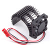 Fastrax Fastrax Aluminium Motor Heatsink Fan Unit(Fan On Side)
