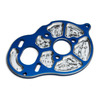 Team Associated B5/B5M Factory Team Milled Motor Plate - Blue