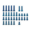 Associated B5 Blue Aluminium Lightweight Screw Set