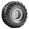 Fastrax 1:10 Crawler Granite 2.2 SCale Wheel �140mm Tyre (Grey)
