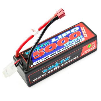 Voltz 5000Mah Hard Case 11.1V 50C Lipo Stick Pack picture