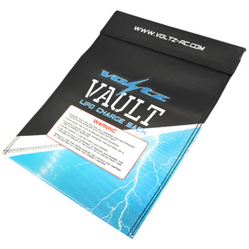 Voltz Charge Vault LiPo Sack/Bag Large 23cm X 30cm picture