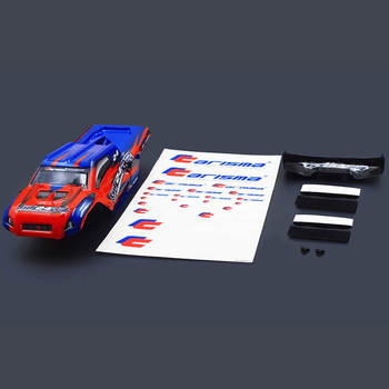 Carisma GT24Tr Truggy Body Painted Body Set (Red/Blue) picture
