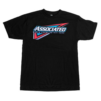 Team Associated Tri T-Shirt Black (Large) picture