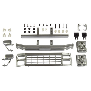 Team Associated Cr12 Ford F-150 Grill & Acc. Set Satin Chrome picture