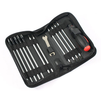 Fastrax 19-In-1 Tool Bag 3Xslot,3X Ph 6Xhex,4Xnut 1X 5/8MM Wrench picture