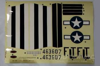Dynam P51D Mustang Decal picture