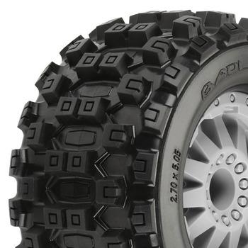 "Proline Badlands Mx28 2.8"" All Terrain On Grey F11 Wheel Jato picture"