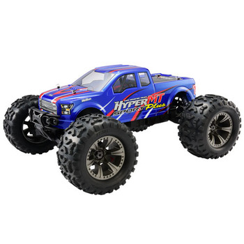 Hobao Hyper Mt Sport Plus Elec Rtr W/Hw150a Esc,18kg Servo - Blue picture