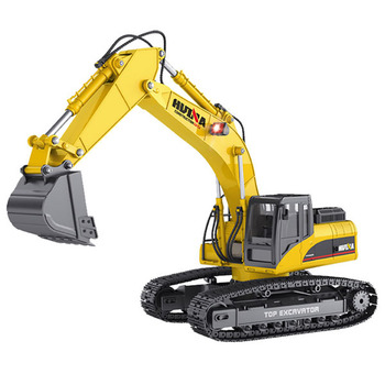 Huina 1/14 Full Alloy 23ch 2.4g Excavator (Version 4.0) picture