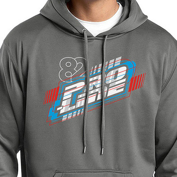Pro-Line Energy Dark Smoke Grey Hoodie Sweatshirt (S) picture