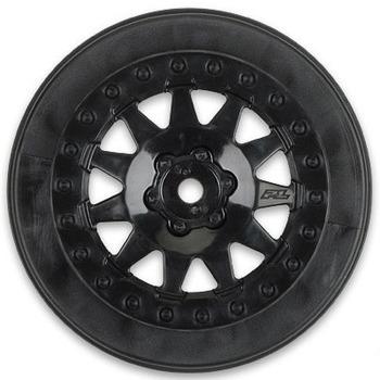 """Proline F-11 2.2/3.0"""" Black Wheels SC10RS/SC104x4/Protrac picture"""