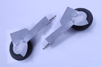 Fms 1M P47 Main Landing Gear Set Strut And TiRes picture