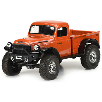 Pro-Line 1946 Dodge Power Wagon Clear Body Crawler 313MM Wb picture
