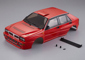 Killerbody Lancia Delta Hf Integrale 190mm Finished Body Red picture