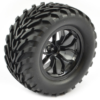 FTX Bugsta Mounted Wheel/Tyre Complete Pair - Black picture