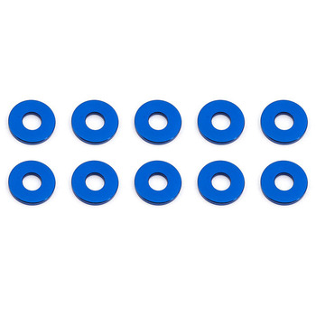 Team Associated Bulkhead Washers 7.8 X 1.0mm Blue Aluminium (10) picture