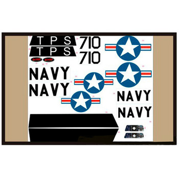Dynam T28 Trojan Decal (Red) picture