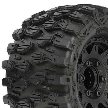 "Pro-Line Hyrax 2.8"" Tyres On Raid Blk R/Hex Wheels Stampede picture"