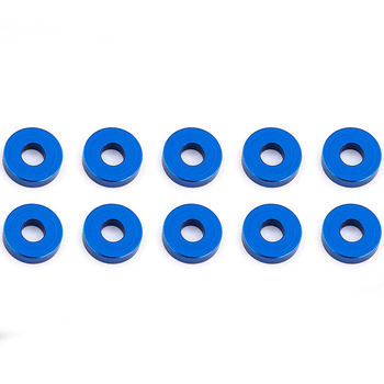 Team Associated Blue Aluminum Bulkhead Washers 7.8 X 2.0 mm (10) picture