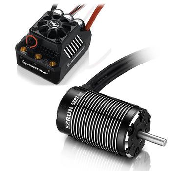 Hobbywing Combo Ezrun Max6 Esc 5687-1100Kv Motor (Black) picture