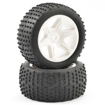FTX Comet Buggy Rear Mounted Tyre & Wheel White picture