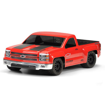 Pro-Line Chevy Silverado Pro- Touring Clear Body Short Cours picture