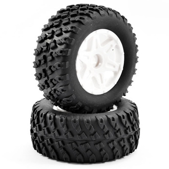 FTX Comet Desert Buggy Front Mounted Tyre & Wheel White picture