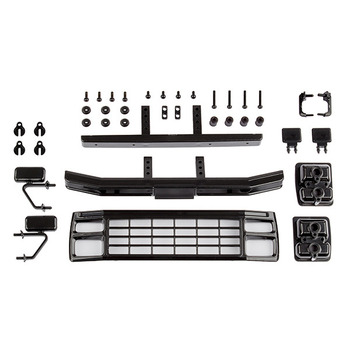 Team Associated Cr12 Ford F-150 Grill & Accessories Set Black picture