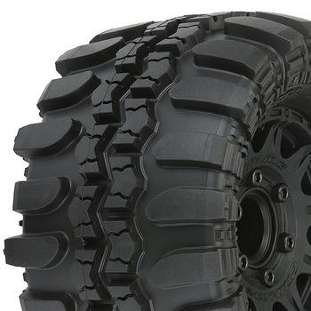 "Pro-Line Interco Tsl Sx S.Swamp 2.8"" Tyres On Raid 6X30 Blk Wh picture"