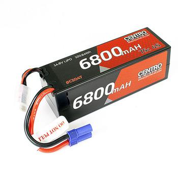 Centro 4S 6800Mah 14.8V 75C Hardcase Lipo Battery Ec5 picture
