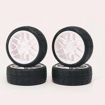 Sweep Hankook Tread 36Deg 24MM Glued Tc Tyres 12Spoke Asphalt picture
