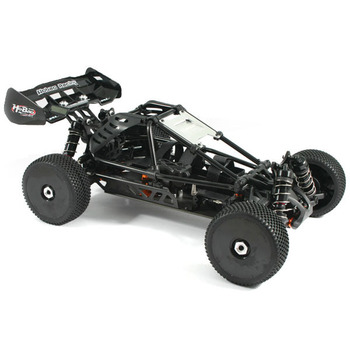 Hobao Hyper Cage Buggy Electric Roller Chassis 80% Pre-Assembled - Black picture