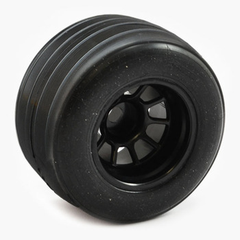 Sweep 1/10 Formula 1 Rear V4 Pre-Glued Grooved Tyres 28R picture