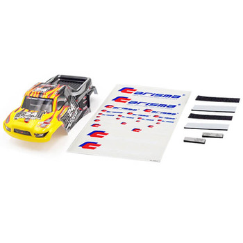 Carisma GT24T Truck Body Paint Ed Body Set (Yellow/Black) picture