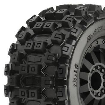 """Proline Badlands Mx28 2.8"""" All Terrain On Blk F11 Wheel Jato/ picture"""