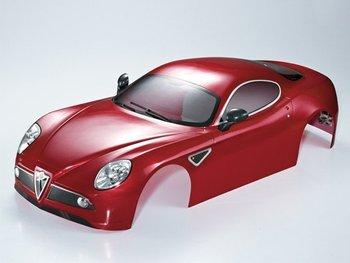 Killerbody Alfa Romeo 8c 1/7 Finished Body Dark Metallic Red picture