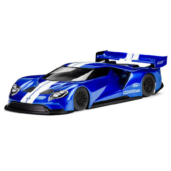 Protoform 'Ford Gt' 200mm Pan Car Gt Regular Clear Body picture