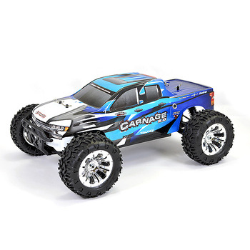 FTX Carnage 2.0 1/10 Brushed Truck 4Wd Rtr - Blue picture