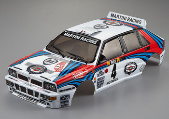 Killerbody Lancia Delta Hf Integrale 190mm Finished Body Ral picture