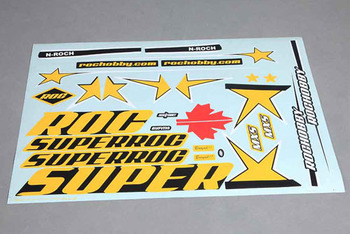 Roc Hobby 1100MM Mxs Decal Sheet picture