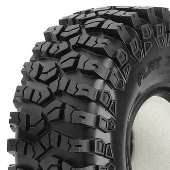 "Proline Flat Iron 1.9"" Xl G8 Rock Terrain Tyres W/Mem. Foam picture"
