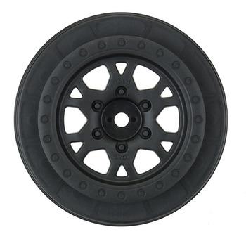 """Proline Impulse 2.2""""/3.0"""" Black Front Wheels (Slash 2wd) picture"""
