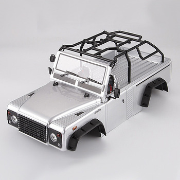 Killerbody Marauder Ii Finished Body Silver (Painted) Light Buckets Assembled Fit For Traxxas Trx-4 picture