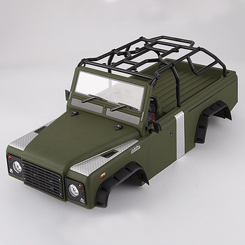 Killerbody Marauder Ii Finished Body Matte Military Green (Painted)Light Buckets Assembled Fit For Axial Scx10 & Scx10 ?chassis picture