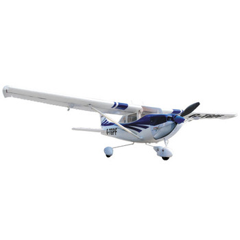 Top Gun Park Flite Cessna 182 Skylane Rtf Mode 2 - Blue picture