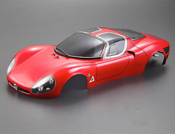Killerbody Alfa Romeo Tipo33 Stradale 190mm Finished Body Red picture